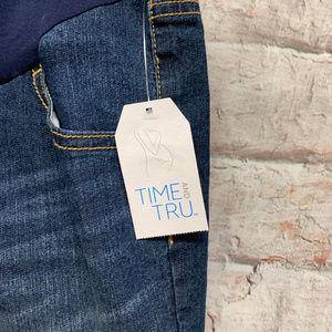 Time & Tru Shorts - Time & Tru Womens Maternity Jean Shorts XL 16-18
